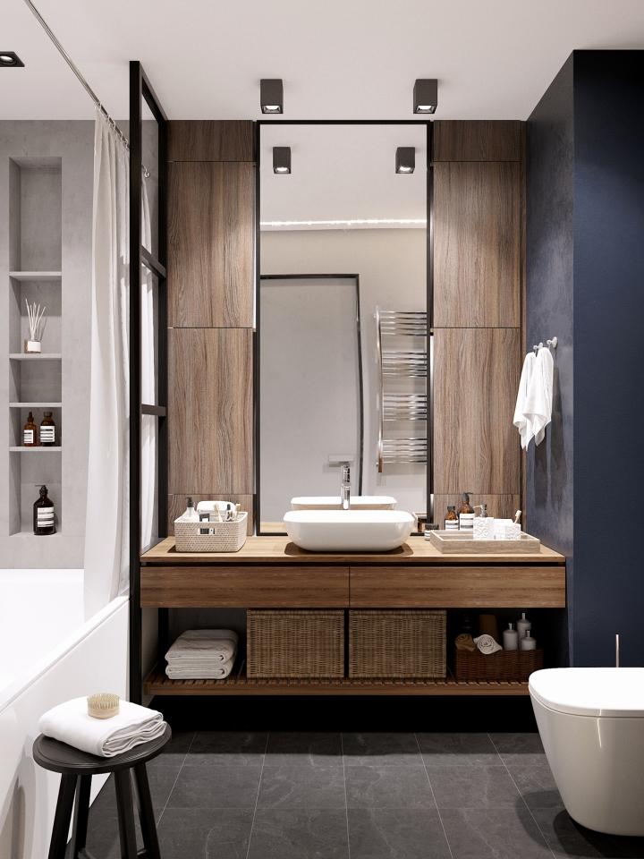 Badkamer Ontwerp Kleine Badkamer 11 Voorbeelden Van Prachtige Rustieke Badkamers Affordable Mooie